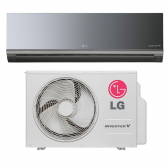 Ar Condicionado Lg Split High Wall Inverter Libero Art Cool 12000 Btus Frio 220V - Asuq122Brg2 010101001161212222