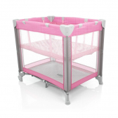 Berço Mini Play Pop Pink Safety 1St - Mkp000327000376
