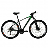 Bicicleta Aro 29 24 Vel Preto/verde High One Revolution - Mkp000163000039