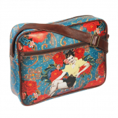 Bolsa Pin Up Azul Exclusiva 40Cm X 30Cm X 6Cm Trevisan - Mkp000196000311
