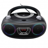 Caixa de Som Colors Boombox Leadership Bluetooth Usb/sd/aux Radio Fm/cd Bivolt/pilhas 1472 - Cs1304711020305121