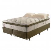 Cama Box Colchão King Size Imperatore Eco Bamboo Herval 193X203X62 - Mkp000374000001