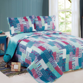 Colcha Evoluition Patchwork King 260X280 Carre Camesa Mkp000362000574