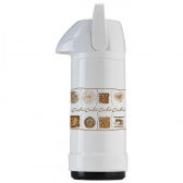 Garrafa Glt Ps Mix Dec Gourmet Sweet Coffee/ Coffee Lovers 1L Branco - Invicta - Mkp000376000111