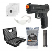 Kit Pistola Airsoft 24/7 6Mm Cybergun Com Maleta Preto - Mkp000943001197