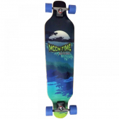 Longboard Completo Moontime Wave Speed 40X10 Azul Owl Sports - Mkp000049000129