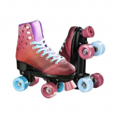 Patins Rollers 4 You Quad Tam. 34 Rosa Multikids Br923 - Mkp000278003314