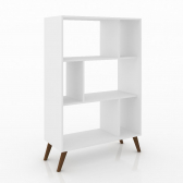 Rack Estante Retro Rt3015 Branco - Movelbento Mkp000296000576