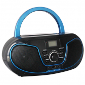 Rádio Bluelife Boombox Bluetooth 3.0 Usb Sd Aux Cd Leadership Bivolt/pilhas 1471 - Cs1204711020305321